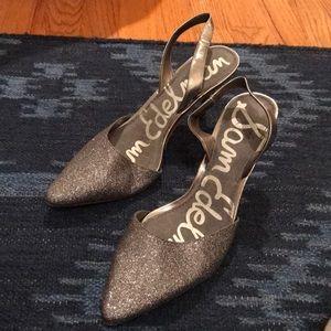 Sam Edelman slingback kitten heels